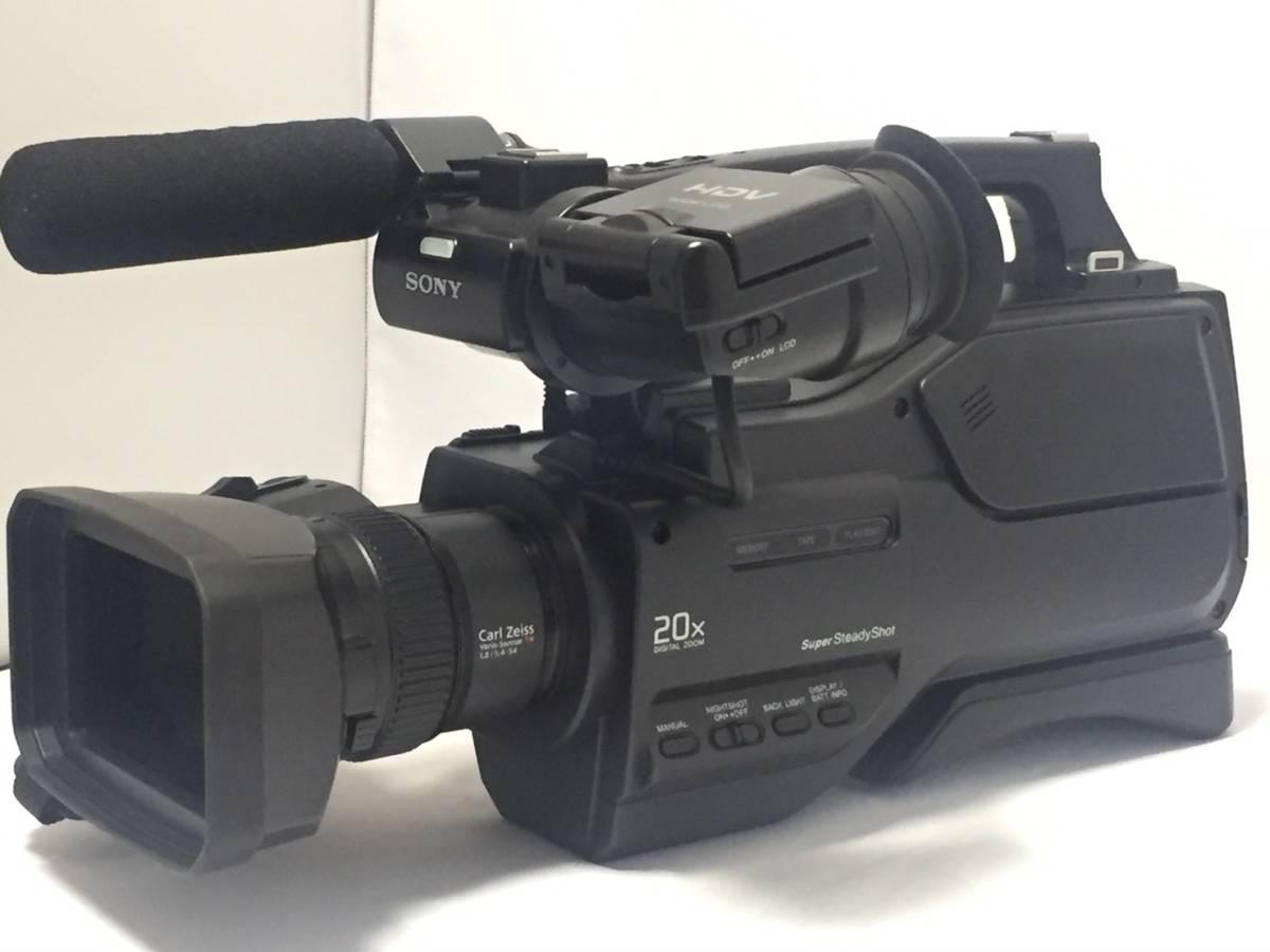 ★極上品★SONY ソニー HVR-HD1000J 業務用ビデオカメラ HDVビデオカメラ #47Y6-48-503