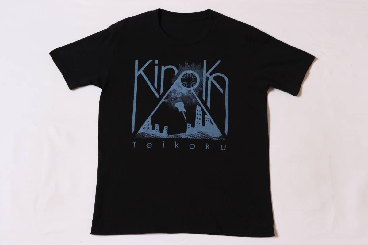 ★きのこ帝国★「eureka」release tour「すべてを夜へ」★ロックバンドTシャツ
