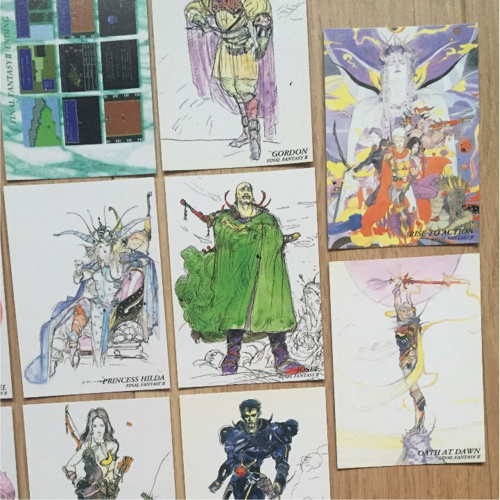 貴重! ファイナルファンタジー2 アートミュージアム カード 14枚セット!_画像3