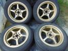 軽量必見!!RAYS gram lights(グラムライツ) 57C ゴールド 国産185/60R15 スイフト フィット ヴィッツ RS シビックMR-Sアクアキューブマーチ
