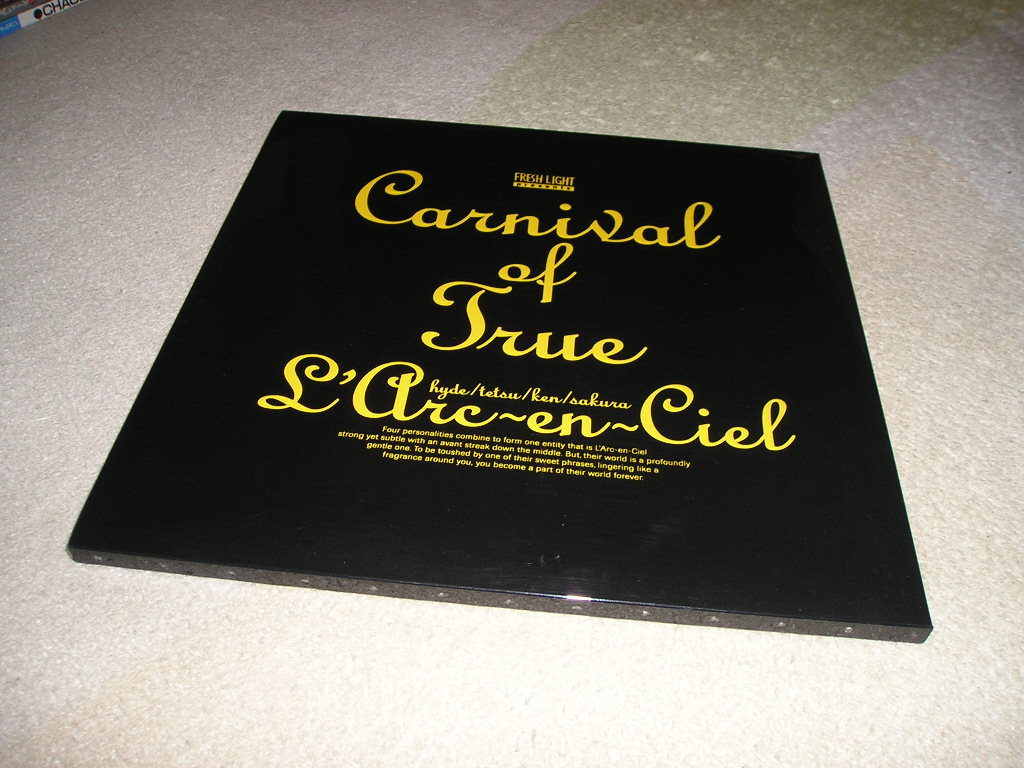 ■L'Arc-en-Ciel Carnival of True パンフレット