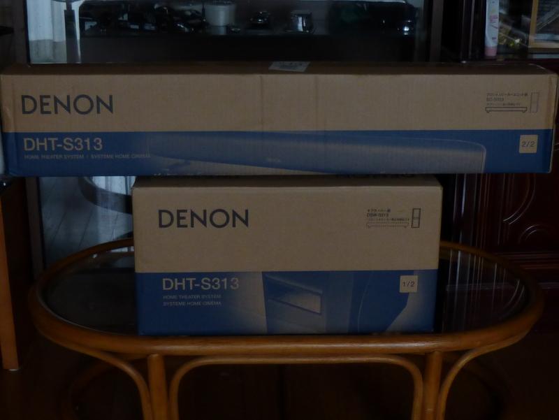 DENONホームシアターシステム DHT-S313