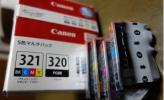 ☆ 純正品 キャノンインクセット4本入り /5本インクセット 1本欠品未使用品 ☆