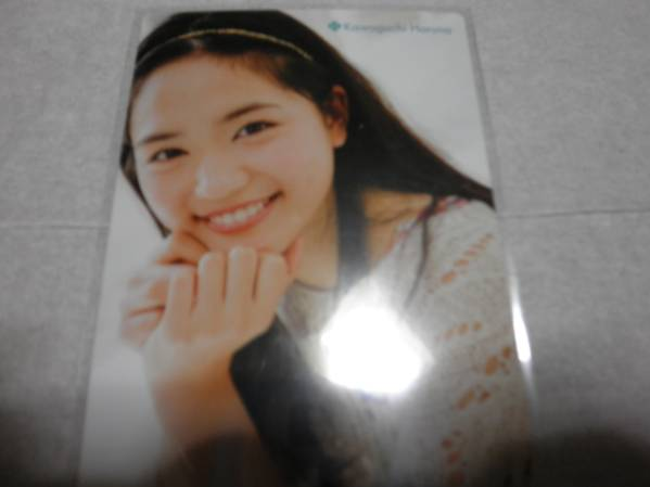 川口春奈 カード