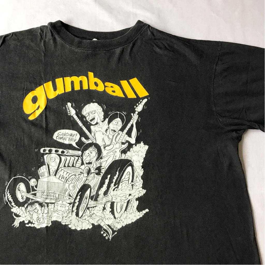 90s gumball Tシャツ ビンテージ 90年代 ガムボール DON FLEMING ドンフレミング SONIC YOUTH TEENAGE FUNCLUBプロデュース ロック バンド
