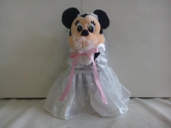 t3036♪Disney ミニーマウス ぬいぐるみ ディズニーグッズの画像