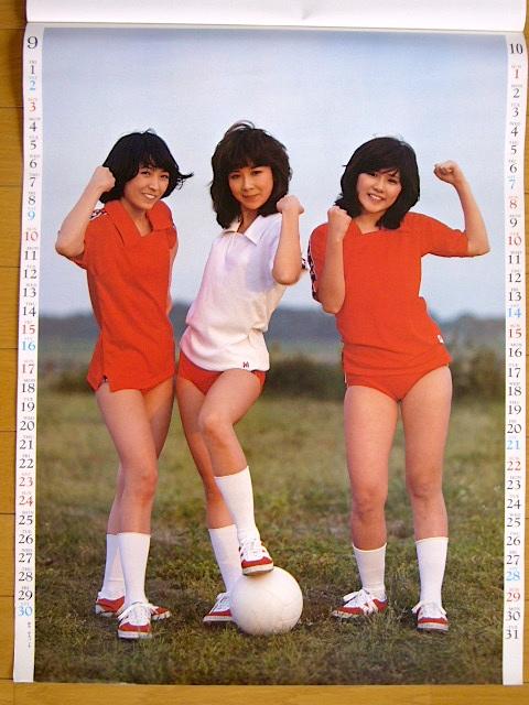 1978年 キャンディーズ カレンダー 未使用保管品_画像2