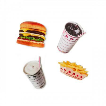 【マグネットセット】USA★IN-N-Out burger★イネナウトバーガー_画像1