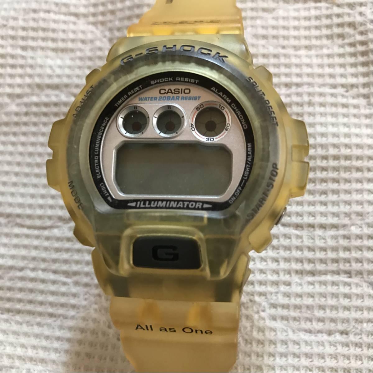 G-SHOCK/Gショック '96 5th I C E R C 腕時計 イルクジ DW-6900K【動作未確認】