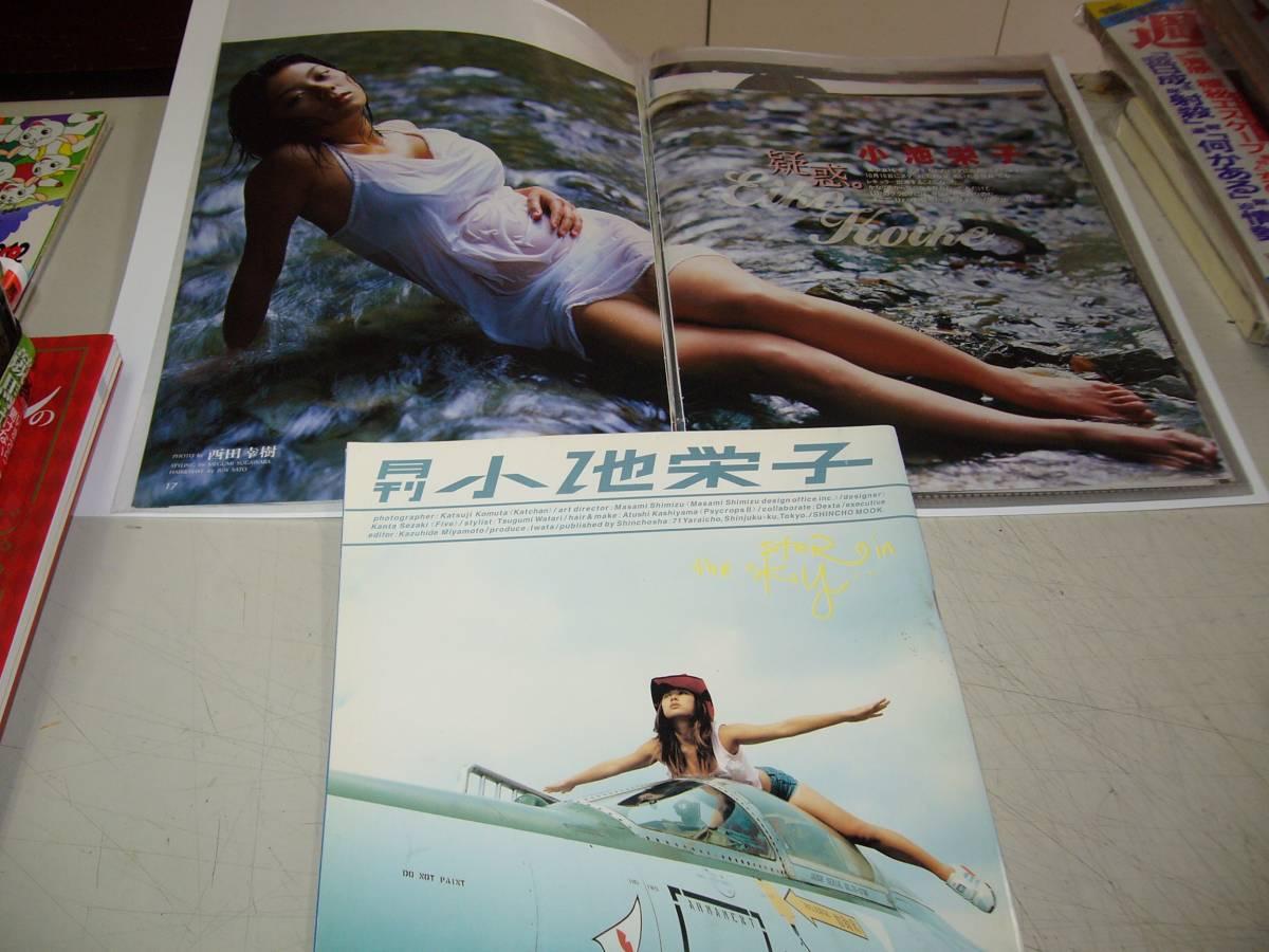 切り抜き+写真集【小池栄子】<切抜き=20-30Pファイル入り><月刊小池栄子/2001年 付録付> グッズの画像