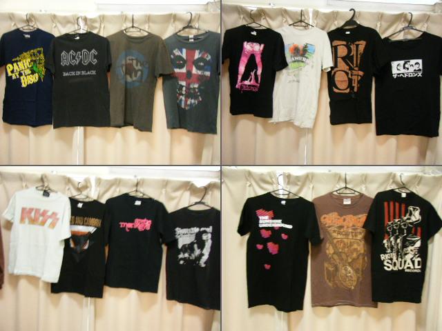 15着 オフィシャル Sサイズ バンドTシャツ misfits AC/DC The JAM KISS arctic monkeys スジバン ビートルズ amplified エアロスミス
