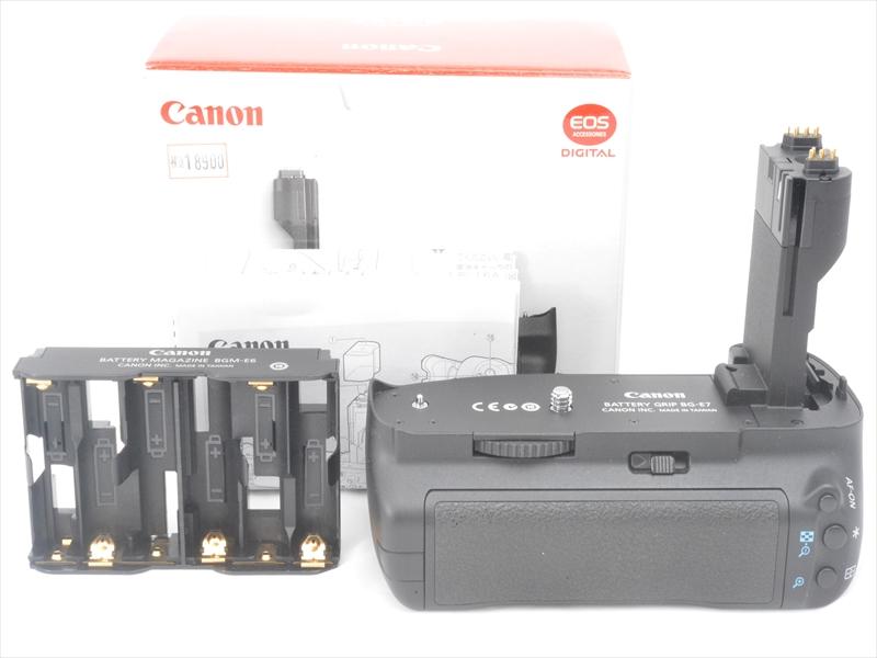 【中古1年保証】【美品】Canon バッテリーグリップ BG-E7