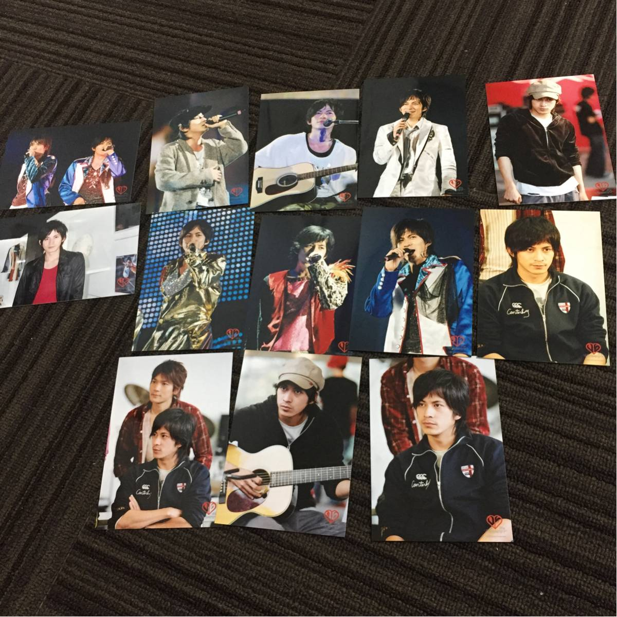 V6岡田 写真13枚 コンサートグッズの画像