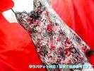 1円スタート セール●TKc01-NW/ワコール高級パルファージュCCL239!B80 お嬢様のナイトウエア 贅沢花レース スリップドレス黒 ネグ ECO良品