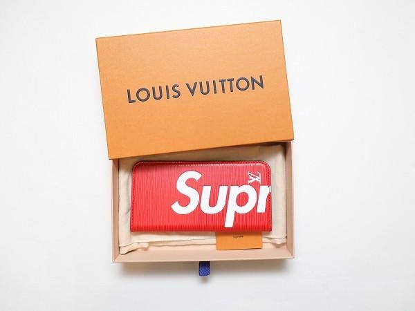 Louis Vuitton × Supreme ルイヴィトン×シュプリーム Folio for iPhone7Plus EPI RED フォリオ フォー アイフォーン7プラス エピ 赤