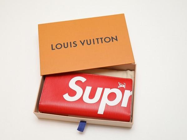 Louis Vuitton × Supreme ルイヴィトン×シュプリーム M67721 PF.BRAZZA EPI RED ポルト