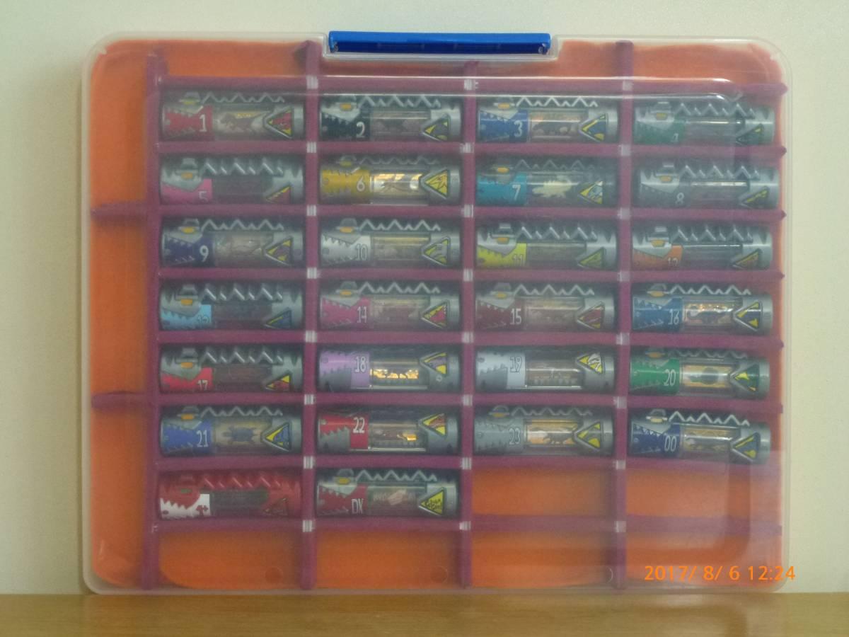 ☆獣電池1~23 00 コンプリート セット ケース付き 獣電池DX 獣電池1+ まとめて大量セット 獣電戦隊キョウリュウジャー_画像2