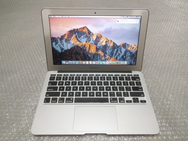 美品☆ Macbook Air 11 /Core i7/4GB/SSD 128GB/充放電88回