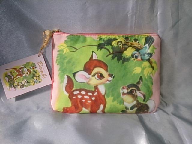 @ Disney バンビ Bambi フラットペンポーチ ☆☆☆ 519 ディズニーグッズの画像