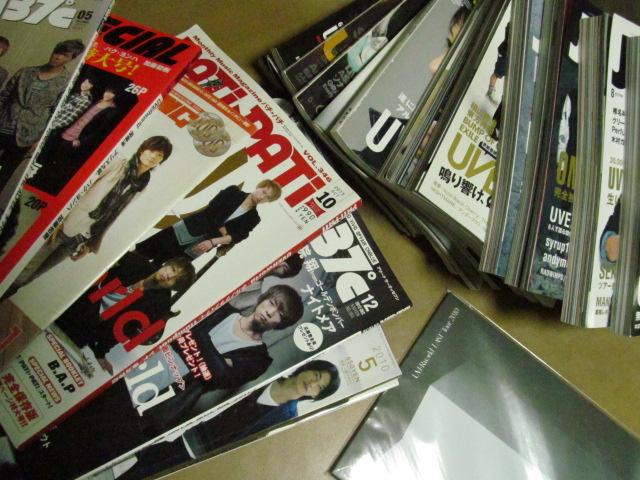 ★ 音楽雑誌,まとめて UVERworld ツアーパンフ