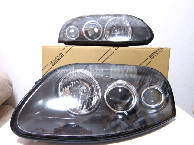 A80系 スープラ 中期・後期純正ヘッドライト 2JZ-GTE 2JZ-GE JZA80 SZ-RZ-SGZ 管理0033_画像1