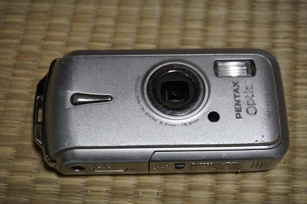 送料無料 PENTAX OPTIO W10 デジタルカメラ ジャンク