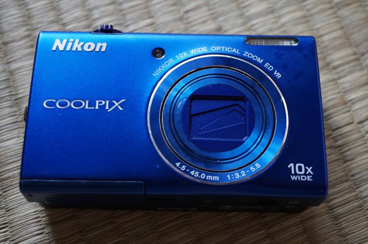 送料無料 NIKON COOLPIX S6200 デジタルカメラ