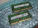 SAMSUNG サムスン ノート用メモリ DDR3-1600 PC3-12800S 8GB 4GBx2