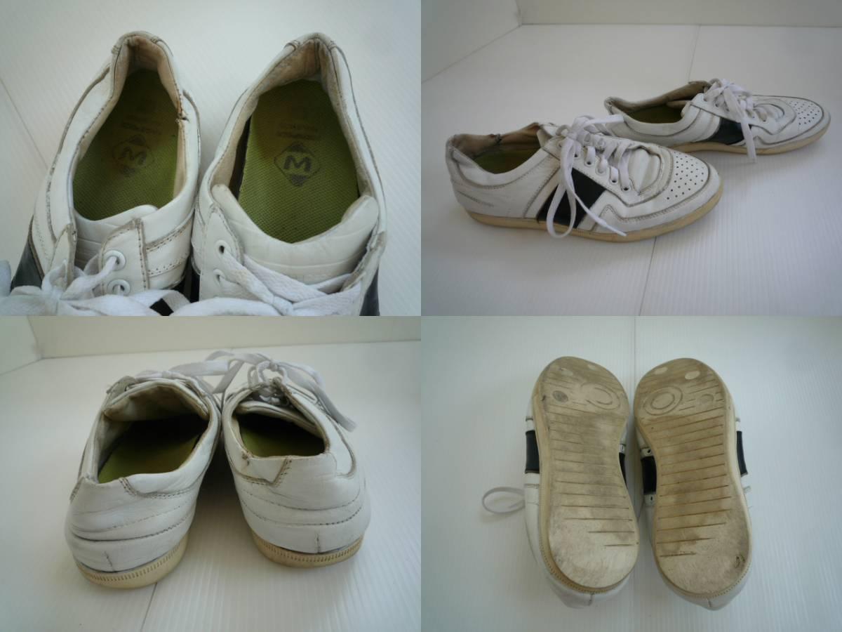 【お得!!】■スニーカー■ 白 ひも靴 メンズ_画像3