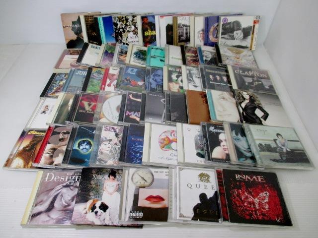 【まとめてお得!】 ★ 洋楽CD / 55枚セット ★ BonJovi EricClapton MariahCarey Queen レッチリ U2 ノラ Rihanna 他