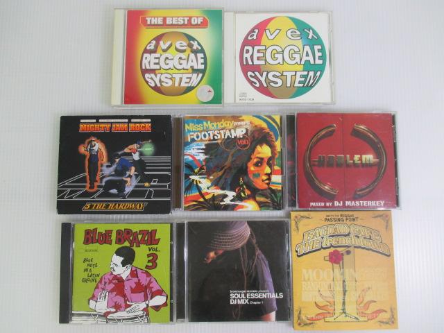 【まとめてお得!】 ★ レゲエミュージック / 8点セット CD9枚 ・ DVD1枚 ★ MIGTY JAM ROCK/Miss Monday/DJ MASTERKEY/BAGDAD CAFE他