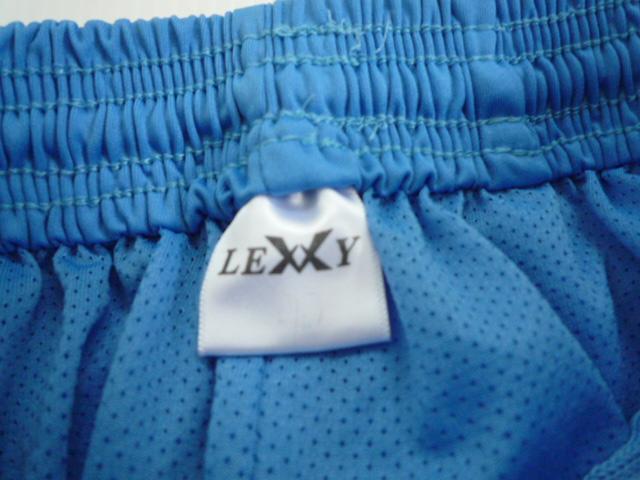 【お得!!】■レキシー/LEXXY■ ハーフパンツ 水色系 ロゴ メンズ_画像3
