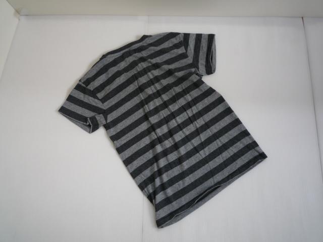 【お得!!】■チープマンデー/CHEAP MONDAY■ 半袖Tシャツ 黒×グレー メンズ XS_画像2