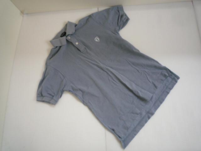 【お得!!】■トランスコンチネンツ/TRANS CONTINENS■ ポロシャツ 薄い水色 半袖 メンズ 2