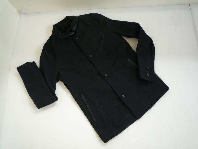 【お買い得!】 ■ シップス / SHIPS JET BLUE ■ 長袖ジャケット 黒 無地 メンズ S