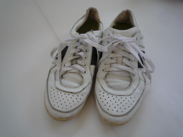 【お得!!】■スニーカー■ 白 ひも靴 メンズ_画像2