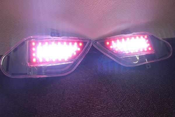 20アルファード ヴェルファイア バックLED  バックフォグ点灯 LEDテール インナーブラック