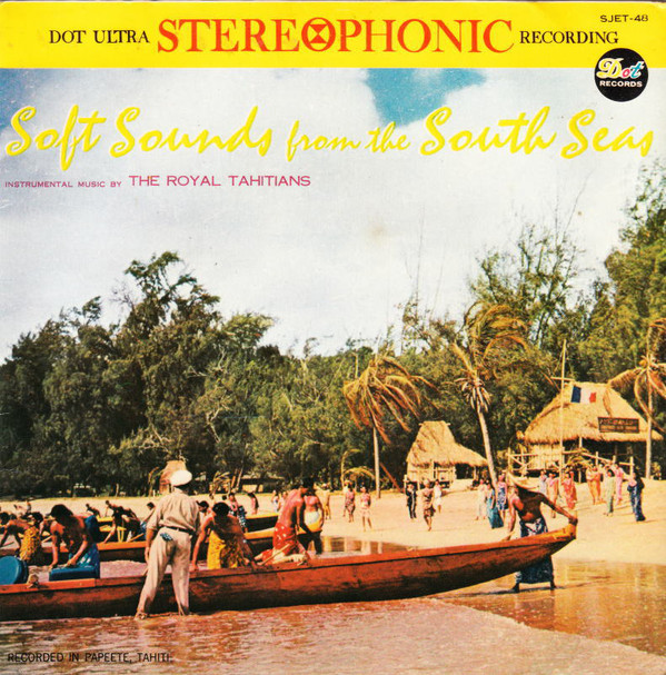 Royal Tahitians Soft Sounds From The South Seas ハワイアン_画像1