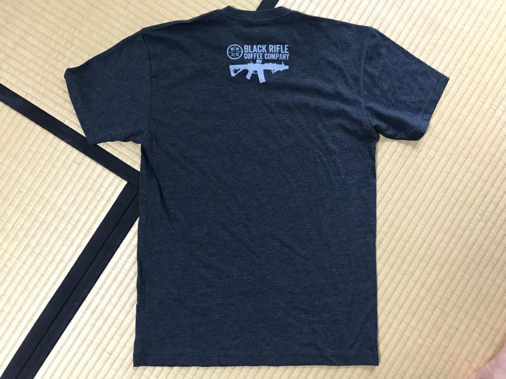 ブラックライフルコーヒー Tシャツ Sサイズ グリーンベレー SEAL DEVGRU MARSOC_画像2