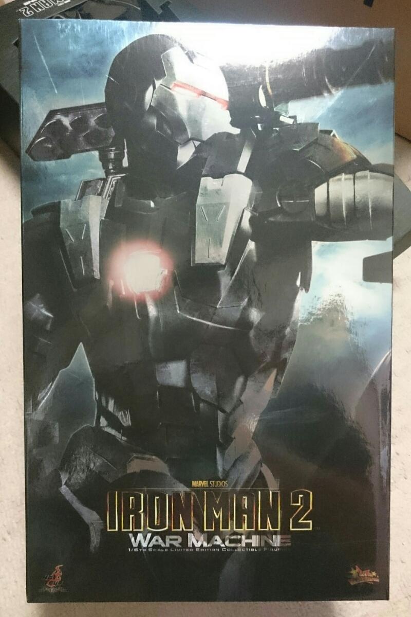 hottoys  ウォーマシン アイアンマン2 中古 グッズの画像