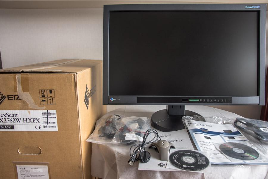 【EIZO】FlexScan SX2762W-HXPX 27インチ液晶モニター2560×1440ドット(EIZO EasyPIX同梱モデル)