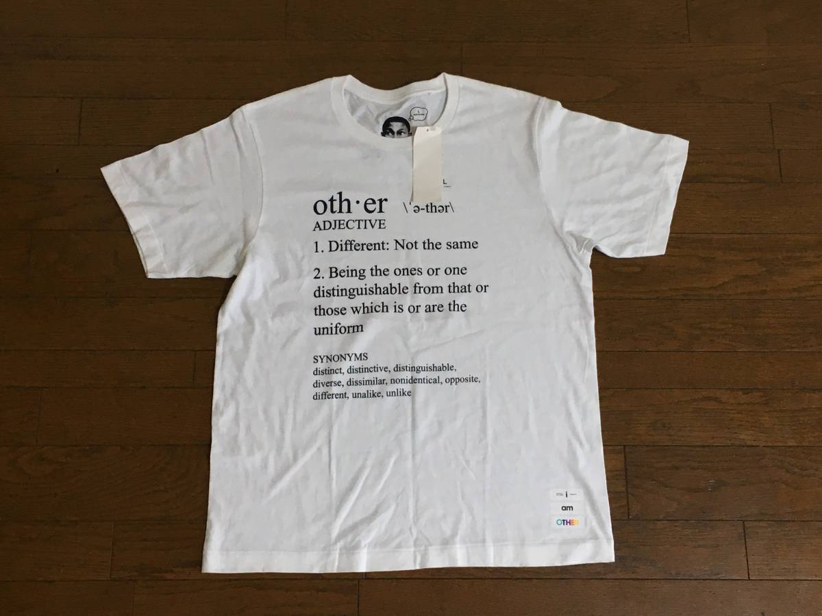 ファレル・ウィリアムス Pharrell Williams UT Tシャツ (i am OTHER) 新品未使用品 Lサイズ