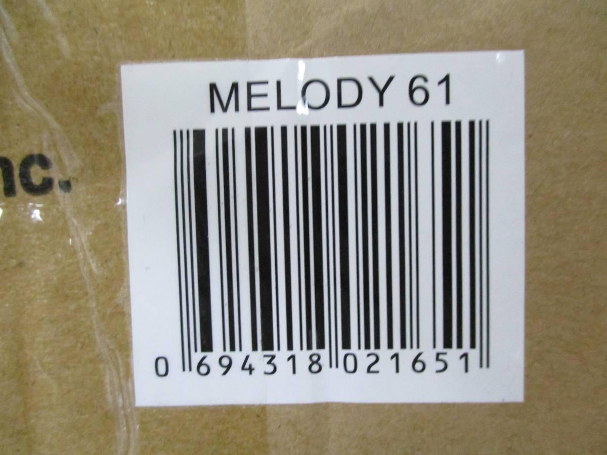 【中古激安】Alesis 電子キーボード 61鍵 ヘッドホン・マイク・スタンド・ベンチ付き Melody61_画像3