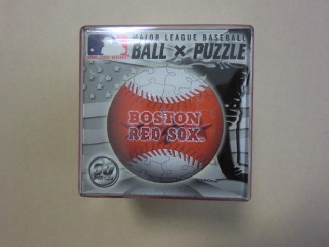 MLB レッドソックス BALL×PUZZLE パズル 未開封 グッズの画像