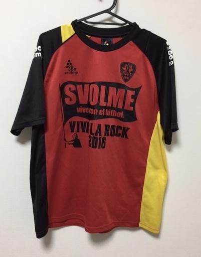 激レア 美品 SVOLME スボルメ VIVA LA ROCK 2016 限定 プラクティスシャツ Tシャツ サイズL