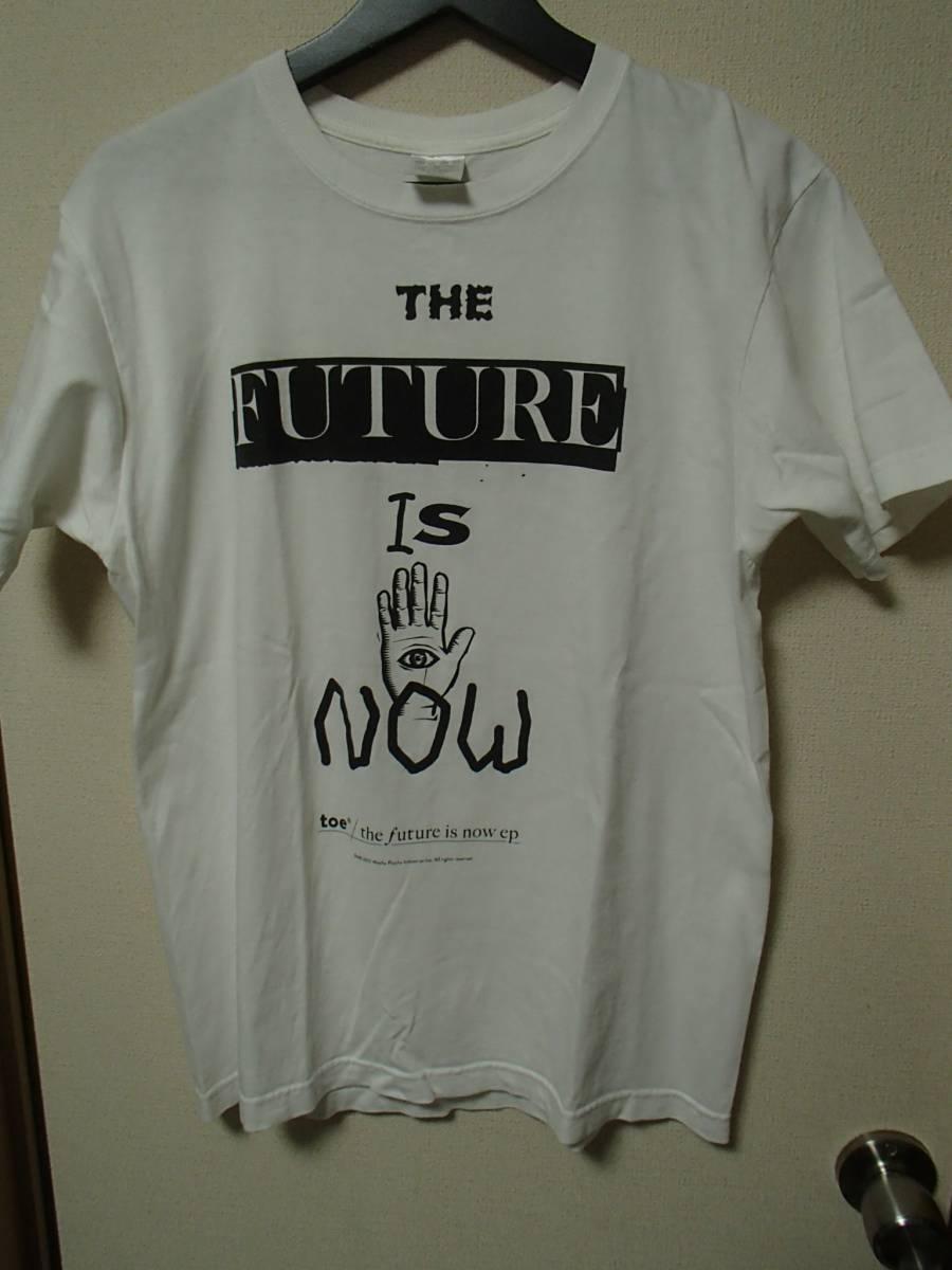 toe Tシャツ THE FUTURE IS NOW Mサイズ envy バンドT ロックT ユーズド 古着