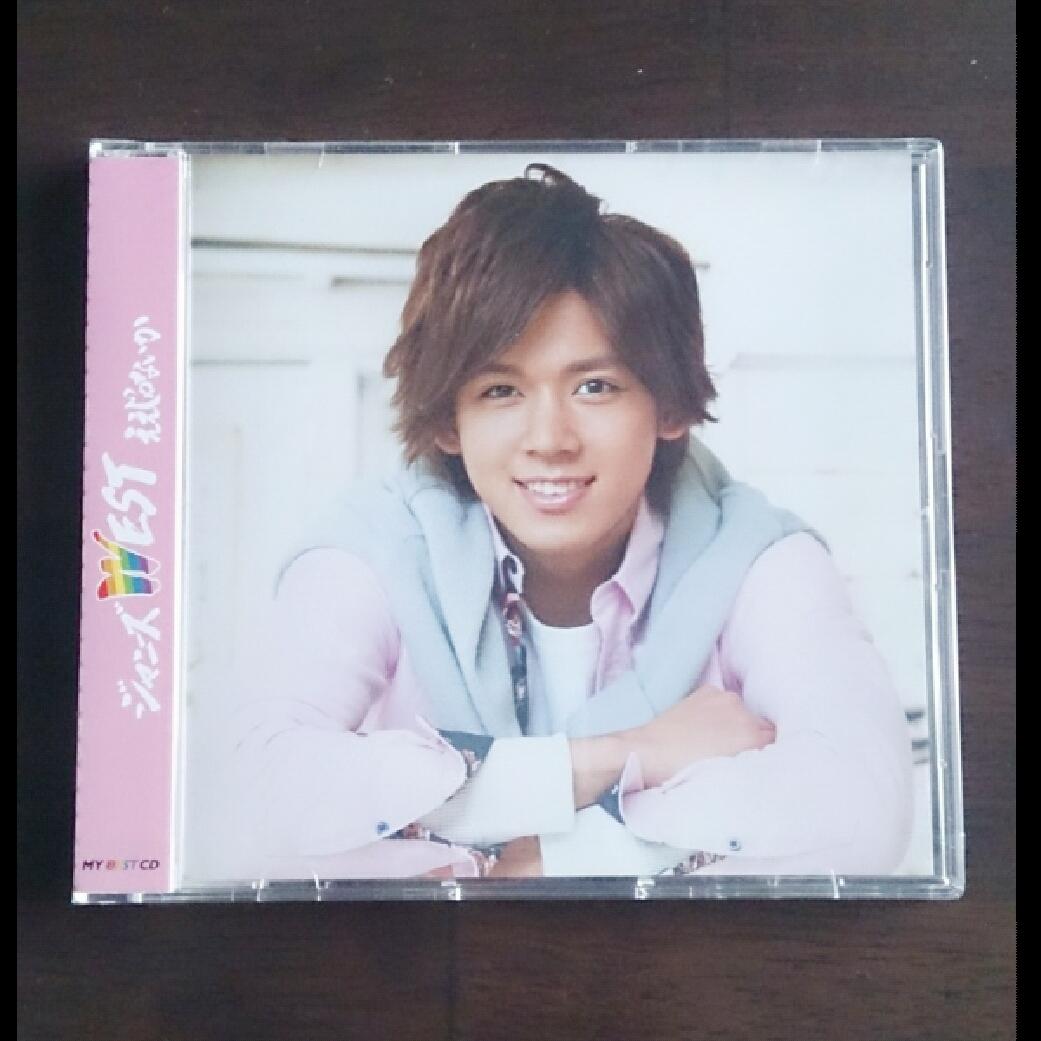 【新品】ジャニーズWEST MY BEST CD 小瀧望