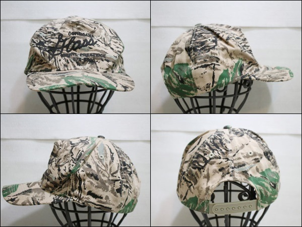 【ONE SIZE FITS ALL】 OTTO キャップ 迷彩 柄 カモフラージュ 帽子 CORSICANA ビンテージ ヴィンテージ USA 古着 オールド DB186_画像2