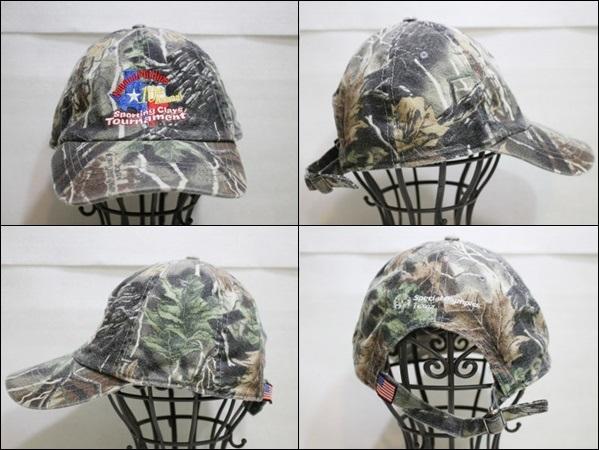 CABRF キャップ 迷彩 柄 カモフラージュ 帽子 Conoco Phillips 10th Annual ビンテージ ヴィンテージ USA 古着 オールド DB192_画像2
