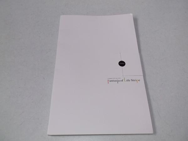 ▽ フランプール flumpool 【 2011ツアーパンフ Fantasia of ife Stripe 】